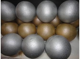 Шар из пенопласта цветной Ø17 см (1шт)