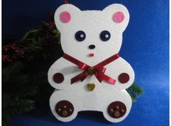 """Декор из пенопласта """"Медвежонок Тедди"""" h30cм (1шт)"""