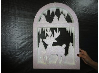 """Декор из пенопласта """"Олененок в лесу"""" h50см  (1шт)"""