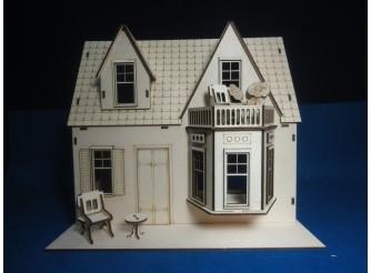 """Кукольный домик """"Домик для принцессы"""" /раскраска/фанера (1шт)"""