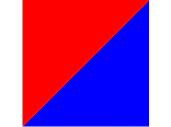 красный/синий