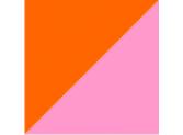 оранжевый/розовый