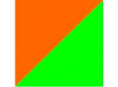 оранжевый/зеленый