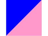 синий/розовый