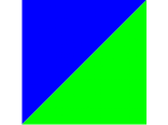 синий/зеленый