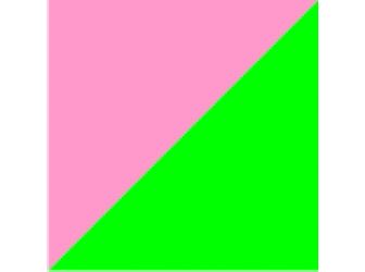 розовый/зеленый