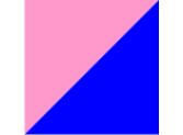 розовый/синий