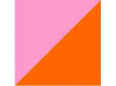 розовый/оранжевый