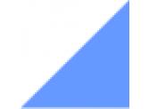 белый/голубой