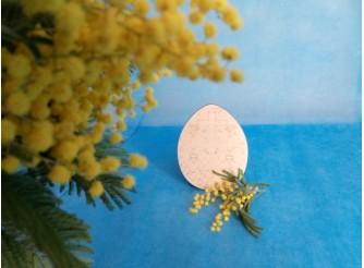 """Яйцо для росписи """"Пасхальный крест""""/фанера (набор 5 шт)"""