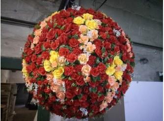 """Деко - шар """"Цветочная поляна"""" Ø150 см (1шт)"""