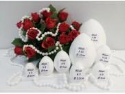 Яйцо из пенопласта - заготовка h20 см (1шт)