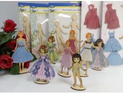 Куклы плоские из фанеры