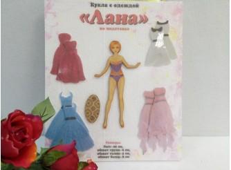 """Кукла """"Лана"""" с одеждой (1 комплект)"""