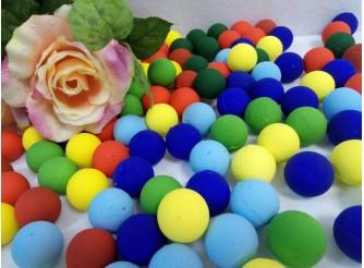 Шар из пенопласта цветной Ø3 см (набор 10шт)