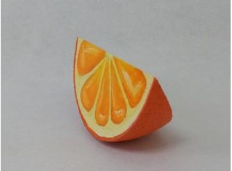 """Декор - муляж """"Долька апельсина"""" d 20см (1шт)"""