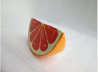 "Декор - муляж ""Долька грейпфрута"" d 20см (1шт)"