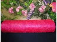 Сизалевое полотно, цвет малиновый (1метр)