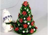 """Новогодняя елка """"Рождественская"""" h35см/d24 см (1шт)"""