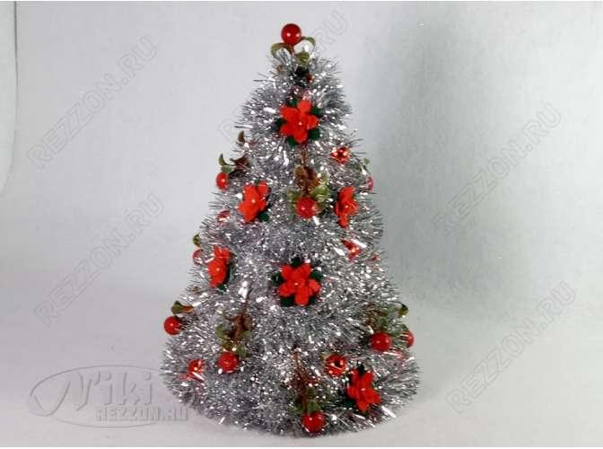 """Новогодняя елка """"Красотка"""" h43см/d29 см (1шт)"""