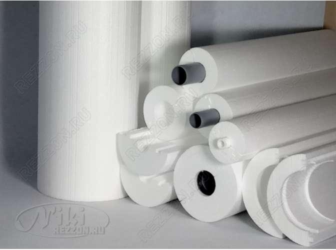 """Теплоизоляция для труб """"Скорлупа"""" для трубы 110 мм (1м)"""