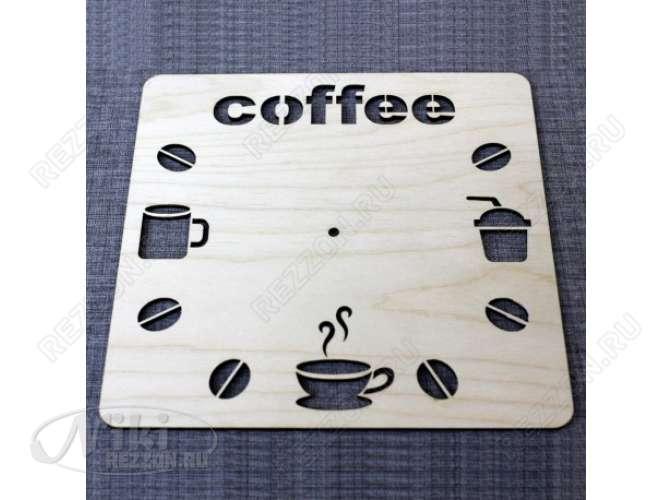 "Циферблат - заготовка ""Coffee"" 30см  (1шт)"