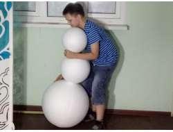 Снеговики 3D заготовки