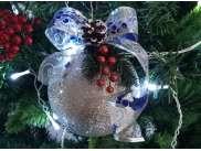 """Декор/шар """"Новогоднее настроение"""" Ø12 см (1шт)"""