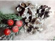 "Новогодняя елка ""Снежная красавица"" h35см/d24 см (1шт)"