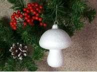 """Заготовка из пенопласта 3D """"Белый гриб малый"""" 6*5,5см (1шт)"""