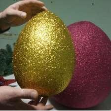 Яйцо блестящее  h 35см (1шт)