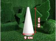 Конус из пенопласта h20, Ø9 (1шт)