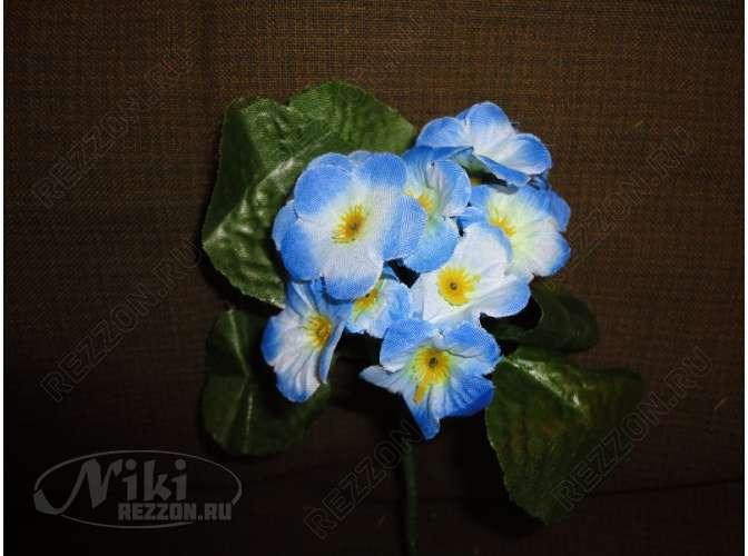 Букет фиалок бело-голубой h18см (1шт) 6f74557095dc6