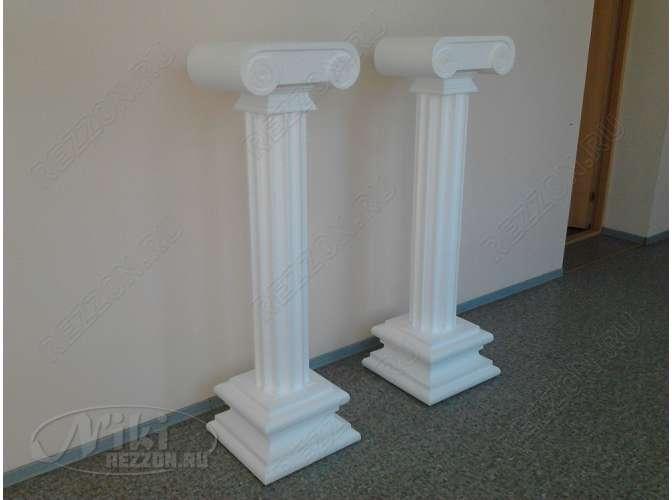 Как сделать своими руками колонну