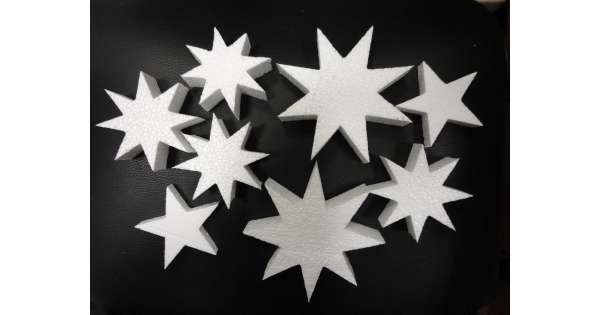 Звезда своими руками из пенопласта