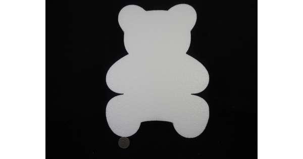 Медведь из пенопласта своими руками 65