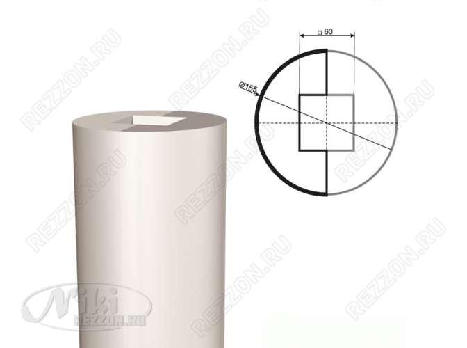 Ствол колонны из пенопласта КЛ-001 400 х1000мм (1шт)