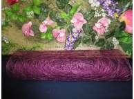 Сизалевое полотно, цвет фиолетовый (1м)