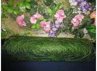 Сизалевое полотно, цвет зеленый (1м)