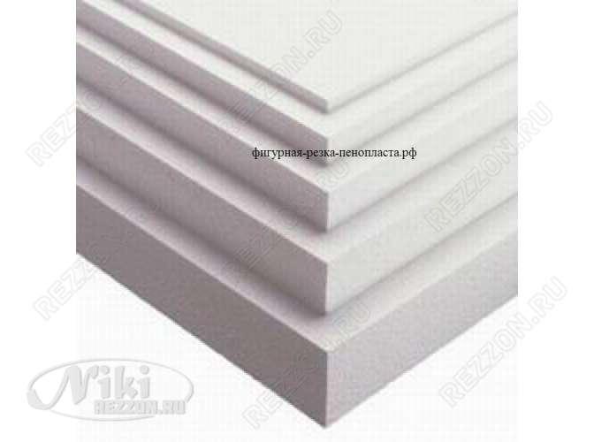 Листовой пенопласт ПСБ-С 25ф/ 100*100*2 см (1шт)