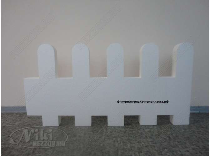 "Декор из пенопласта ""Забор"" ZB002"