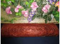 Сизалевое полотно, цвет коричневый 48х9ярд (1рулон)