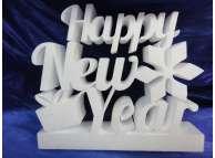 "Буквы из пенопласта ""Happy New Year""/ h30 см (1 комплект)"