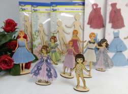 Куколки из фанеры