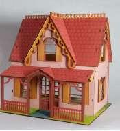 Кукольные домики с принтом
