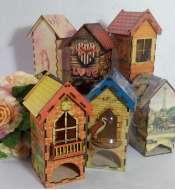 Чайные домики с принтом